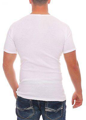 Halbarm Unterziehshirt Unifarben Rundhals bugatti 4er Pack Herren T-Shirts