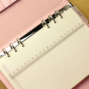 A5-A6-A7-Size-2pcs-Page-Marker-Frosted-Plastic-Ruler-Insert-Refill-OrganiseBLCA