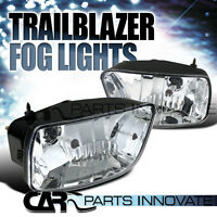 02-09 Chevy Trailblazer Clear Bumper Driving Fog Lights Left+right W/ Bulbs on sale