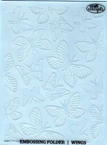 Craft Concepts Universal Embossing Folders A6 REDUCED CLEARANCE