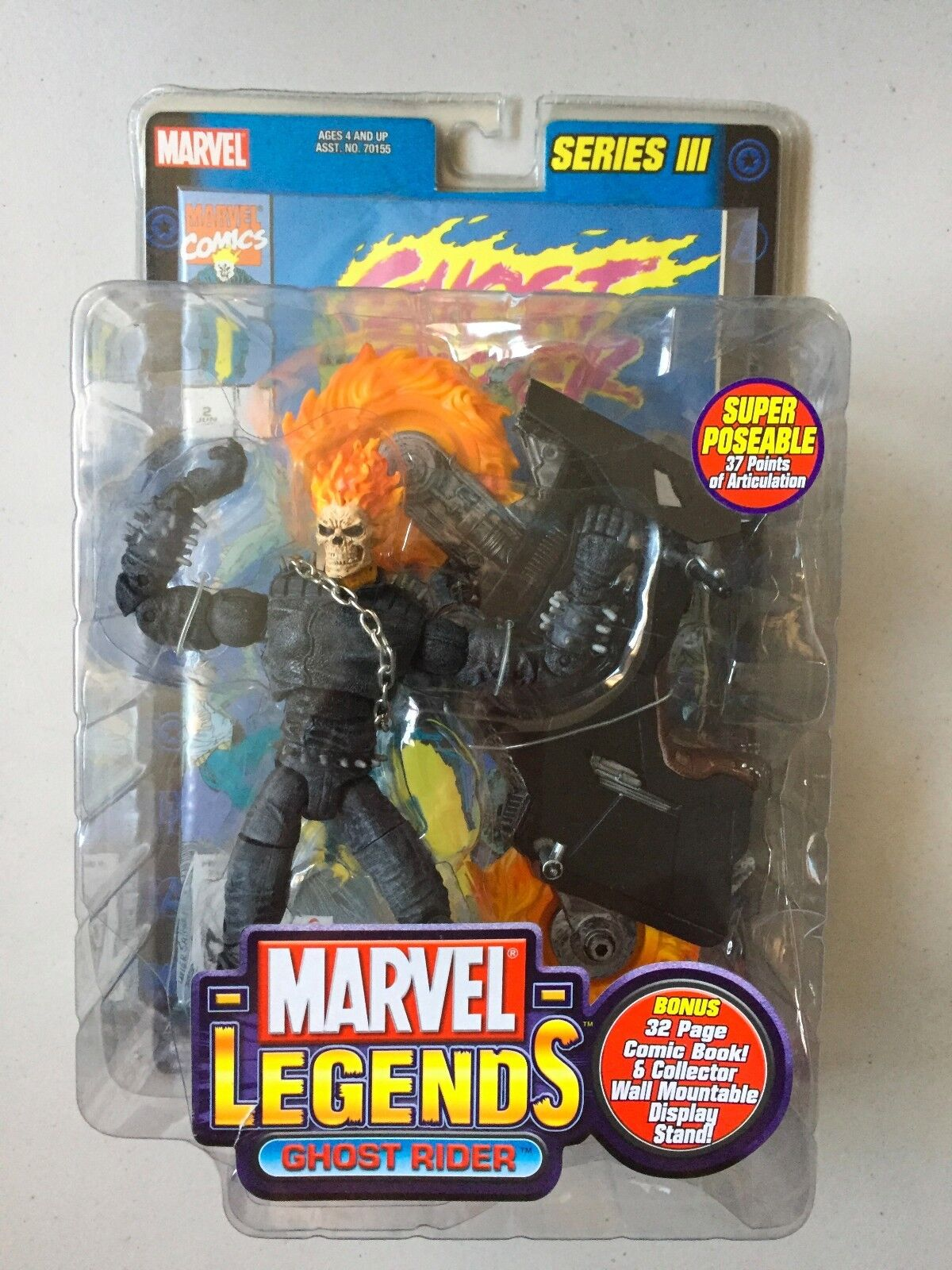 Marvel Legends 6  Action Figure GHOST RIDER Series 3 BRAND NEW