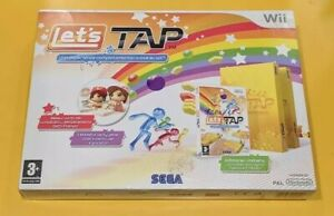 Let's Tap Wii Game English Version