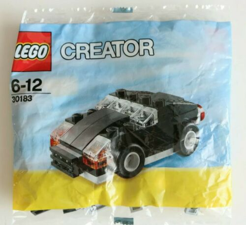 Lego Little Black Car 30183 Creator New