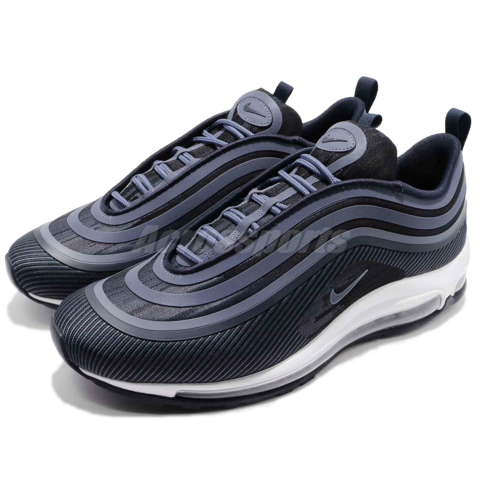 Nike Air Max 97 Ultra 17 Obsidian Navy Blue Men Running Shoes Sneaker 918356-404 Casual wild