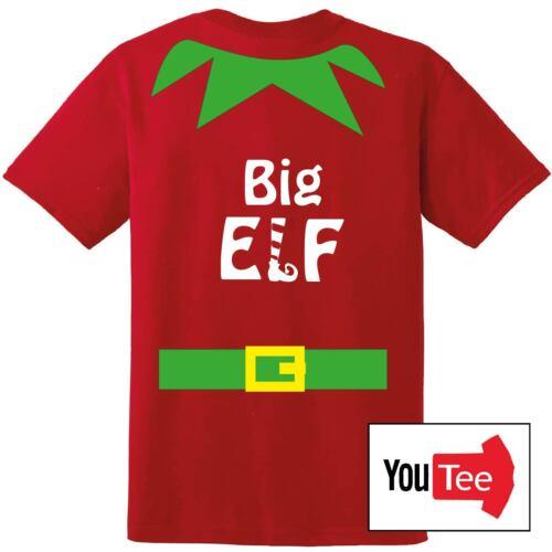 QUALITY Elf PERSONALISED Tshirt t-shirt xmas Christmas elves present gift Xmas