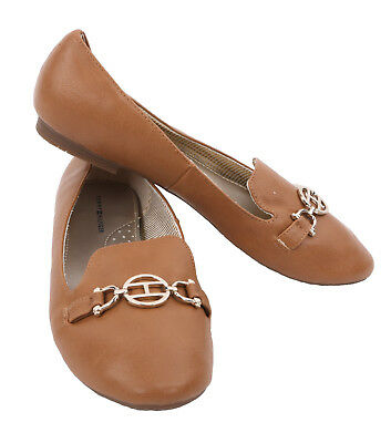 $0 Free Ship Tommy Hilfiger AW KATRINA Medium Brown Color Women/'s Casual Shoes