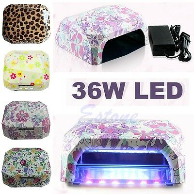Nail Dryer Curing Lamp Diamond Shape 36W LED CCFL Machine For UV Gel Nail Polish