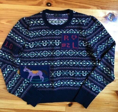 POLO Ralph Lauren Fair Isle Puff Sleeve Sweater Pu