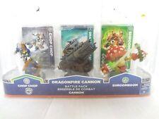 Skylanders Giants GameStop Golden Dragonfire Canon ChopChop Shroomboom DG229-J3