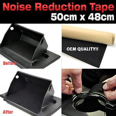 Car Auto Adhesive Noise Reduction Felt Sheet Tape 50cm x 48cm for Vehicle Parts