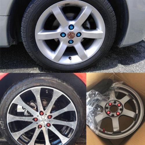 "20pcs Red M12x1.5 Racing Wheel Lug Nuts 1.38/"" Close End for Honda Civic Toyota"