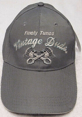 ENGINE PISTONS BASEBALL CAP VINTAGE DUDE LAID BACK HAT OAK PATCH GREAT GIFT NWT