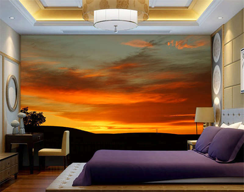 Twilight Time Of Day Full Wall Mural Photo Wallpaper Print Kids Home 3D Decal