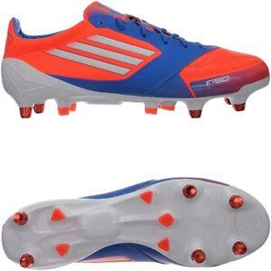 Detalles de Adidas f50 ADIZERO xtrx sg señores botas de fútbol rojoblancoazul SG galerías nuevo ver título original