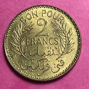 #666 - Bon Pour 2 Francs 1945 Tunisie - Facture