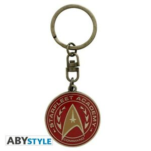 Star-Trek-Metall-Schluesselanhaenger-Starfleet-Academy-5-cm-ABYStyle