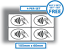 4-x-Contactless-Stickers-Credit-Card-Payment-Signs-105x60mm-Taxi-Shop-Business thumbnail 1