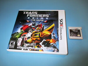 Transformers-Prime-The-Game-Nintendo-3DS-w-Case-No-Manual
