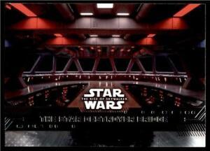 2019 Topps Star Wars Rise Of Skywalker Base 87 The Star Destroyer Bridge Ebay