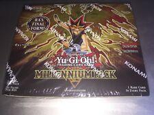 Millennium Pack Booster Box Konami Factory Sealed 36 Packs MIL1-EN 1st Edition