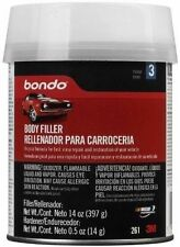 Bondo Auto Body Filler Pint w/ Hardener 3M Lightweight Putty Car Repair NEW