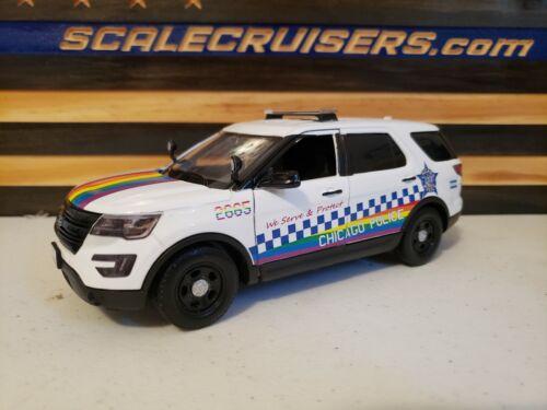 Chicago Police Department PRIDE 1:24 Scale Diecast FPIU Explorer
