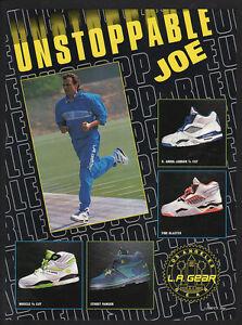 f6fc65252500 1990 L.A. GEAR Shoes - NFL QB JOE MONTANA - SAN FRANCISCO 49ers ...