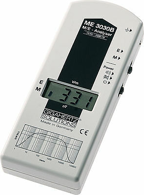 Gigahertz Solutions ME3030B EMF Meter Gauss meter XLNT et abordable