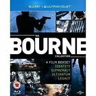 The Bourne Identity / The Bourne Supremacy / The Bourne Ultimatum / The Bourne Legacy (Blu-ray, 2013, 4-Disc Set)