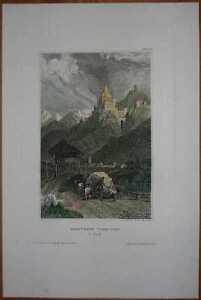 1836-Meyer-print-TROSTBURG-SOUTH-TYROL-ITALY