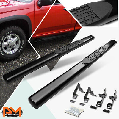 """04-12 Colorado Canyon Extended Cab 3/"""" Black Side Step Nerf Bar Running Board"""