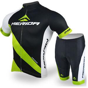 15e7c67da Merida Cycling Clothing Set Men s Reflective Cycling Jersey and ...