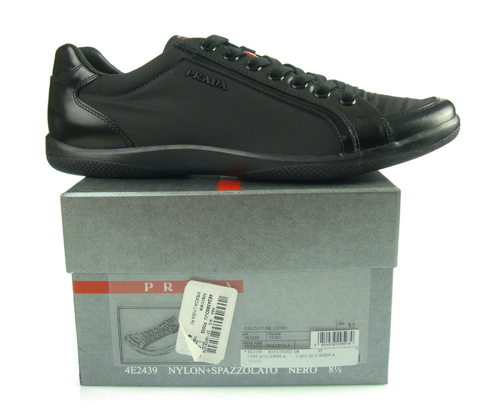 M1 PRADA baskets man man shoes black shoes homme shoes 100%AUTHENTIQUE