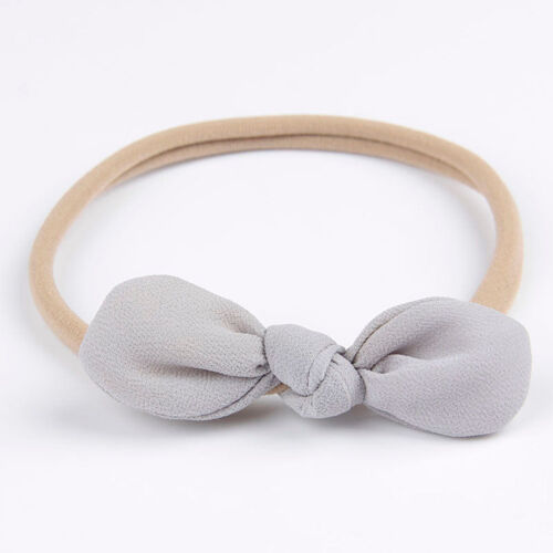 Kid Girl Baby Toddler Bowknot Headband Hair Band Accessories Headwear For Infant