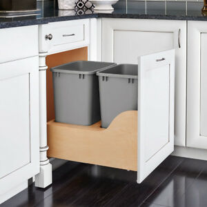 Waste Container Pullout With Blum