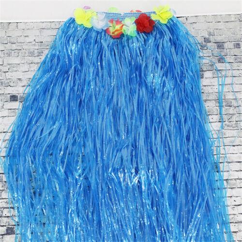 80 cm Hawaiian Herbe Jupe Hula jupe robe femmes festif fête plastique Fibres