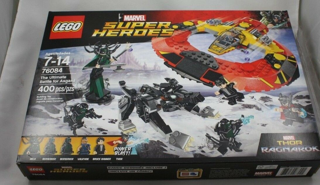 Lego 76084 Marvel Super Heroes The Ultimate Battle for Asgard Thor Ragnarok Nuovo