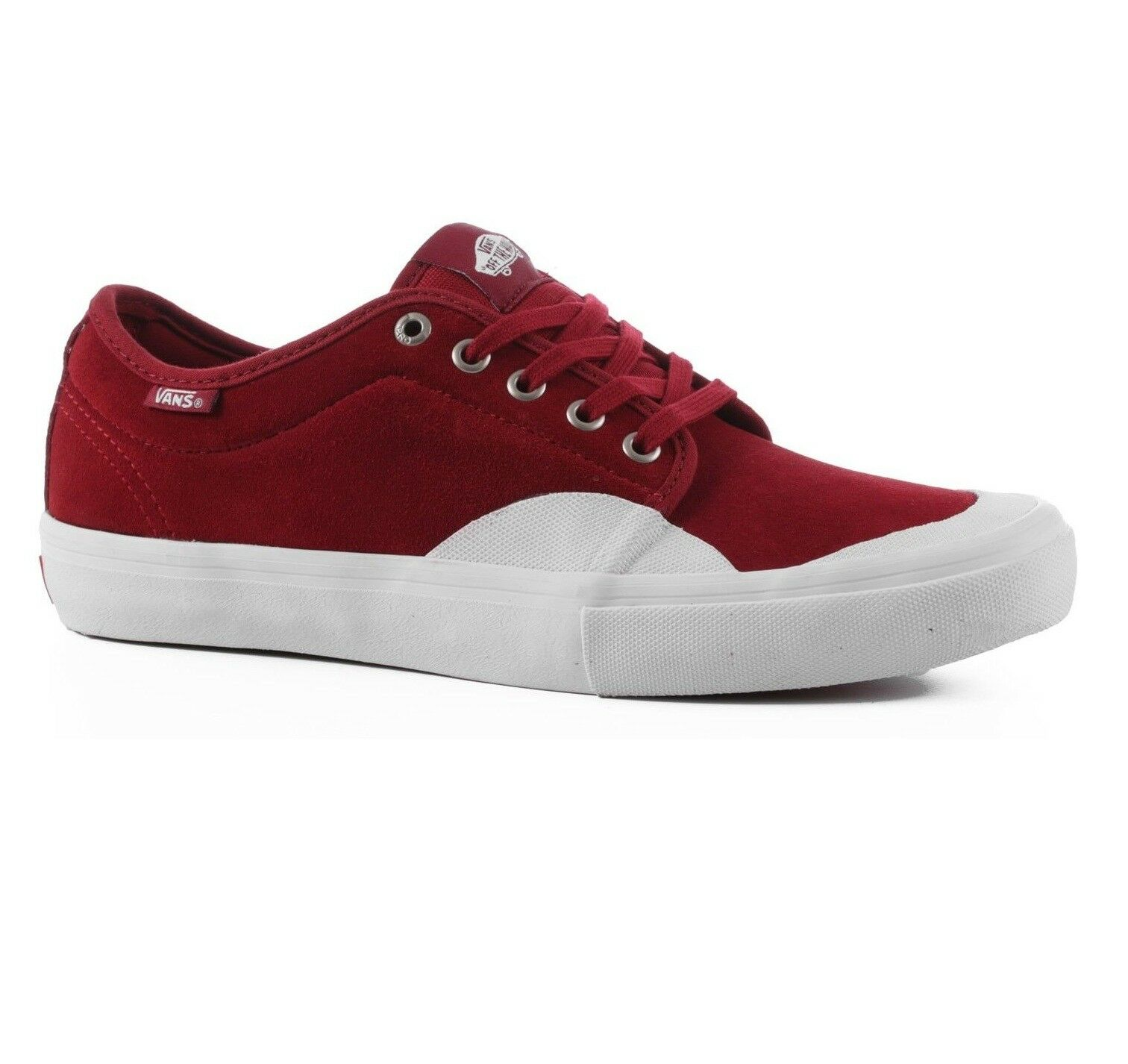 Furgoni ohukka basso pro (gomma) red white dahlia white red pattinare scarpe uomini donne 8 6 b4278b
