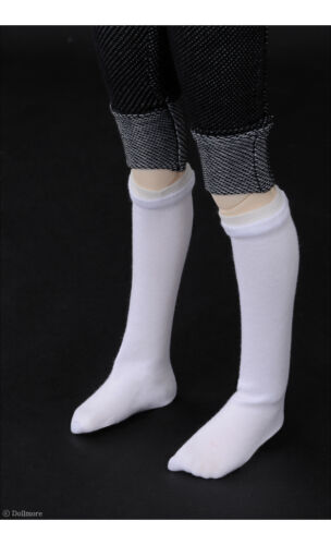 White DOLLMORE 1//4BJD SCALE SIZE MSD Smart Knee Socks