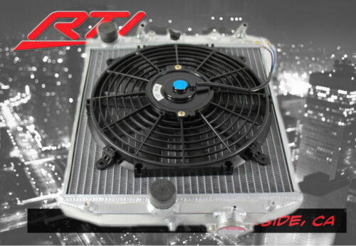 EG EJ EK Honda Civic 92-00 Automatic Transmission Aluminum 2 Row Radiator Fan