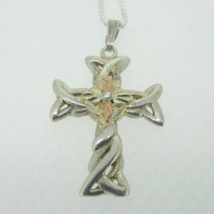 DiamondJewelryNY 14kt Gold Filled St Louise de Marillac Pendant