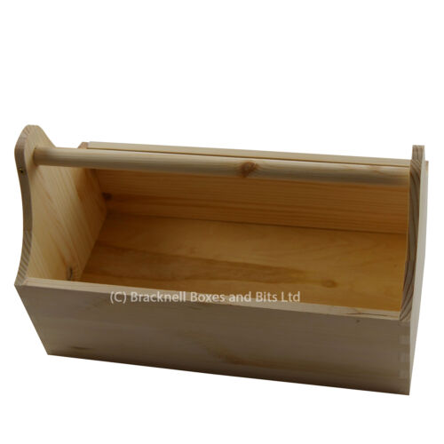 En bois Boîte à Outils//Outil Trug//outil Seau//porte-outils//Boîte en bois BPU101