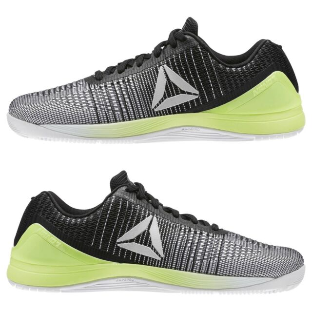 Men s Reebok CrossFit Nano 7 Weave Green Training Weightlifting Fitness  BS8290 833acbf9bb20