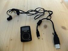 Sandisk MP3-Player Sansa Clip 8 GB schwarz Radio FM mit neuen Hörern Sport