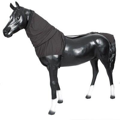 Boett Top & Tail Black Dimensione 80 - 115 Cm (criniera - & Coda Protezione) - Ekzemerdecke- E La Digestione Aiuta