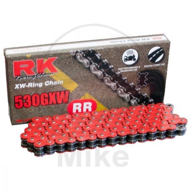 RK Xw-Ring Red 530GXW/120 Chain Rivet Suzuki 1250 GSF N Bandit 2011-2012