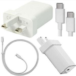 Nouveau-Google-Pixel-2-3-4-amp-XL-UK-Chargeur-Mural-Adaptateur-3-1-Type-C-1-0-Cable-De-Donnees