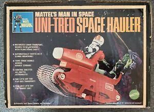 Vintage-1966-Mattel-Major-Matt-Mason-Uni-tred-Space-Hauler-complete-with-box