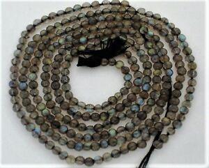 Labradorite-with-Fire-4-4-5mm-Round-Gemstone-Beads-14-5-034-strand