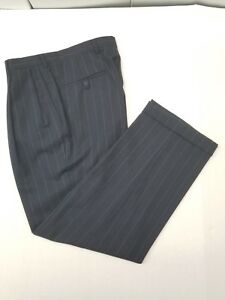 Pants Austin Reed Suit London 33x30 Men S Pinstripe Pleaded Cuffed Inseam 30 Ebay